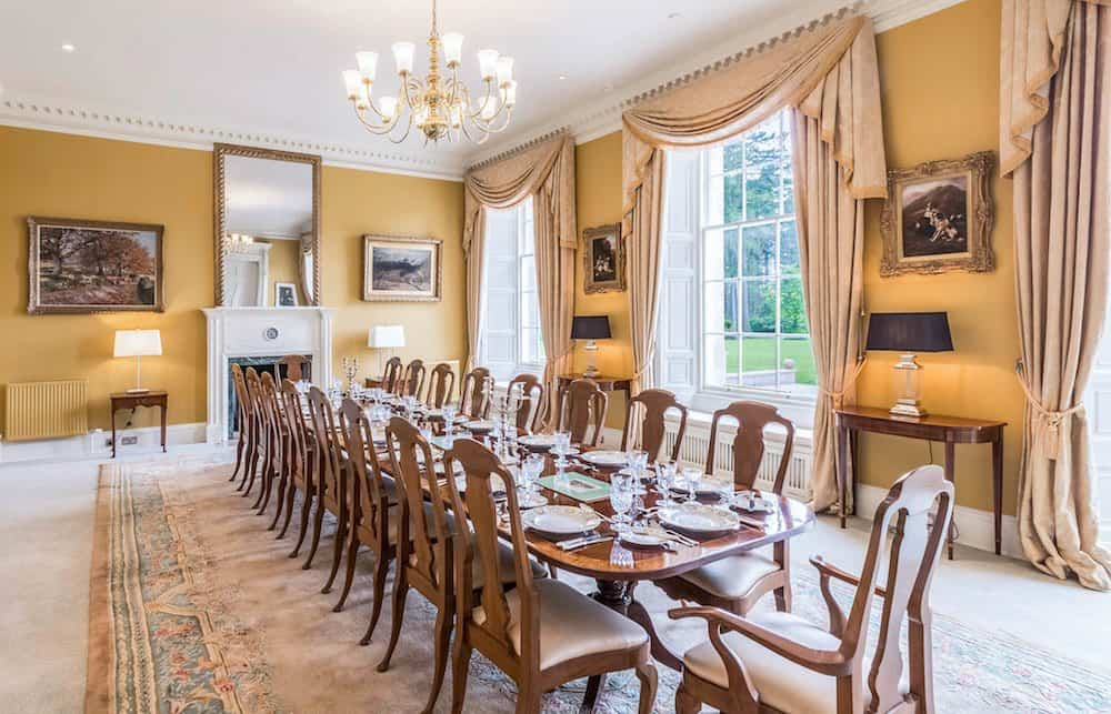 Dining Room at Blervie House