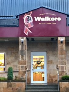 Walkers Shortbread Shop.