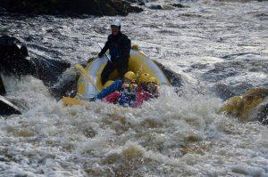 Blervie House White Water Rafting