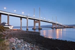 Touring Kessock Bridge