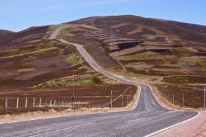 Winding Roads in Cairngorms National Park