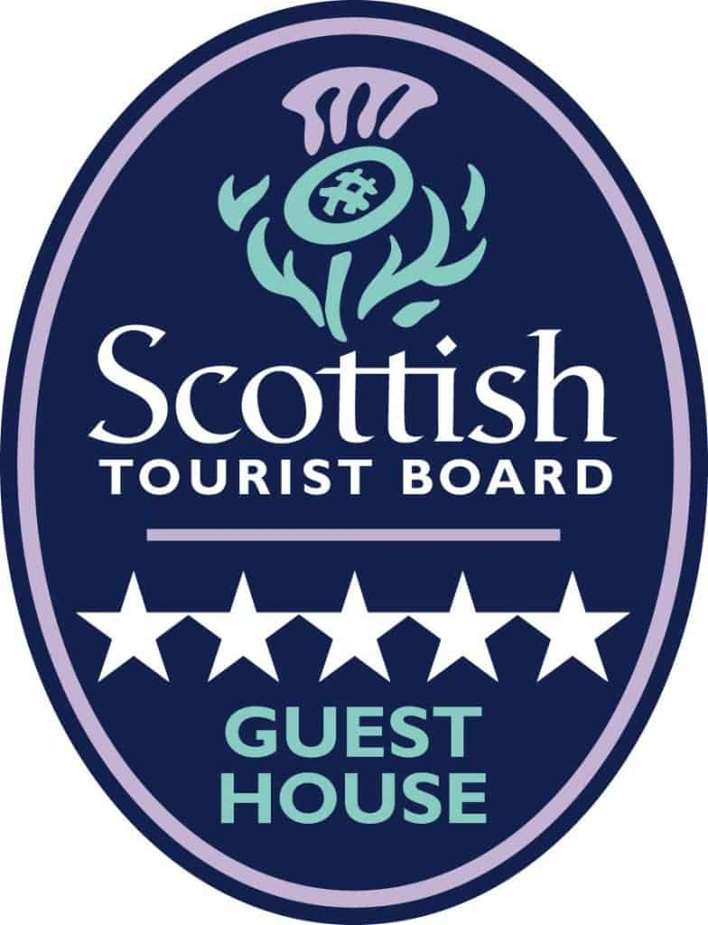 Visit Scotland 5 Star Guesthouse Rating Logo