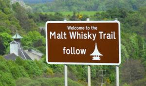 The Malt Whisky Trail Signpost