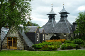View of Strathisla Distillery