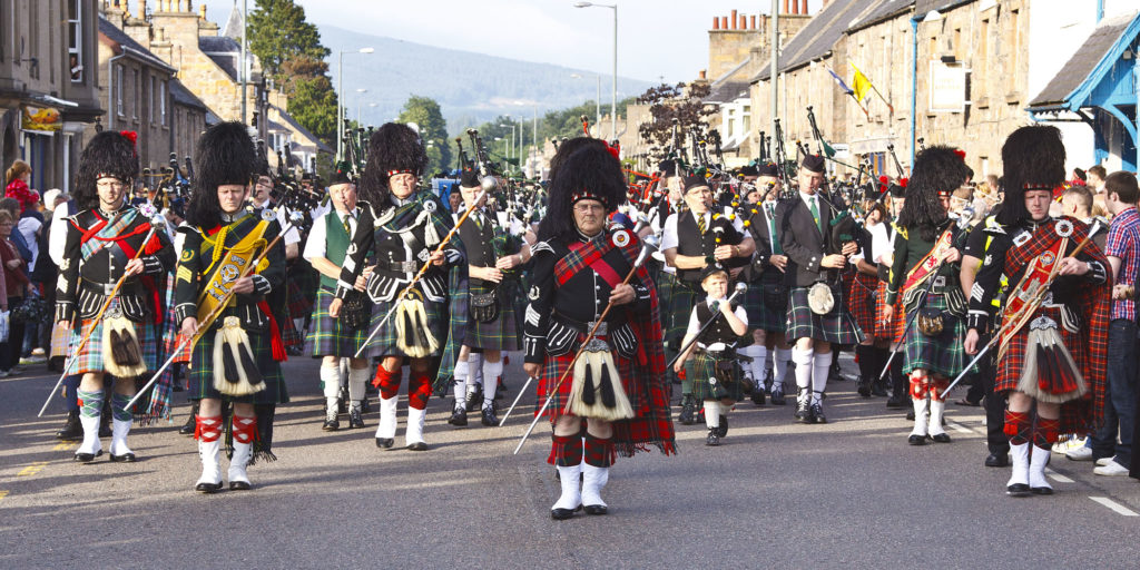 H is for Harbours and Highland Games - Aberlour Highland Games