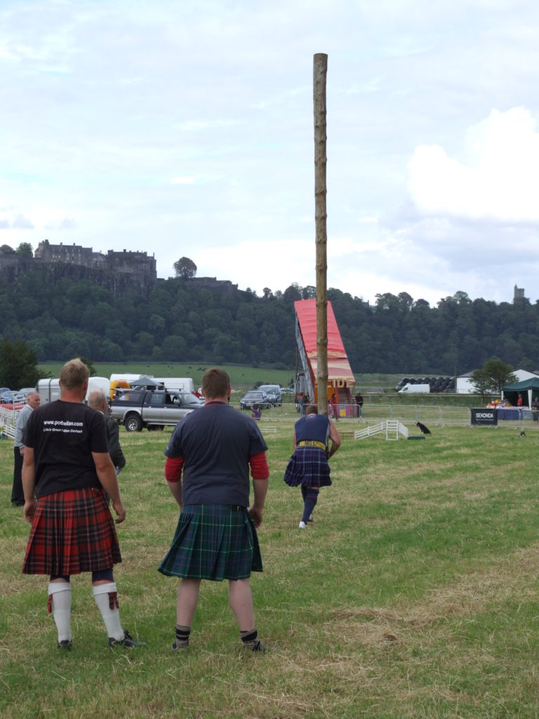 H is for Harbours and Highland Games 1