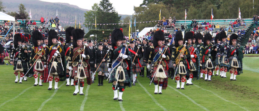 H is for Harbours and Highland Games 3
