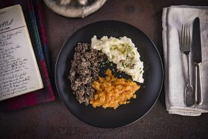 Haggis Neeps and Tatties - traditional Burns Night Supper