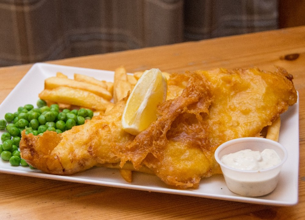 Fish and Chips in Moray