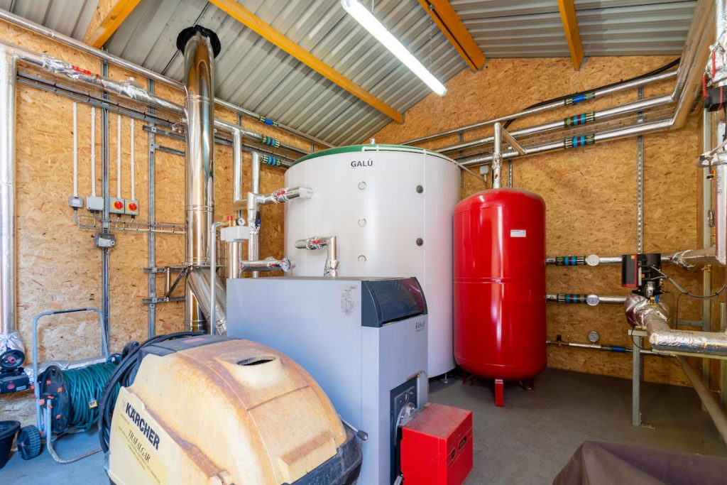 The Biomass Boiler Plant