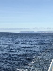 Sea view from North Link ferry