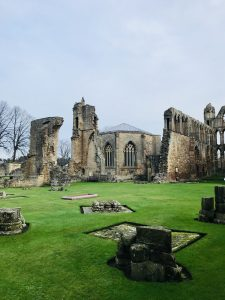 Elgin Cathedral in April 2020 in Scotland