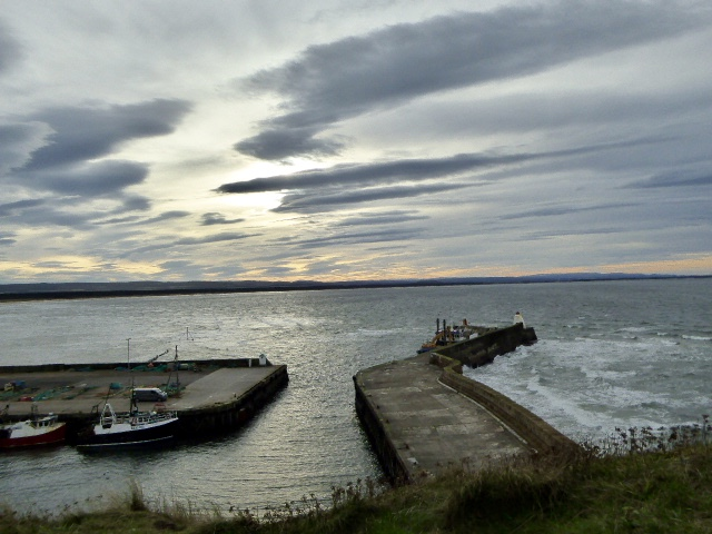 Harbour views from Pictish Fort