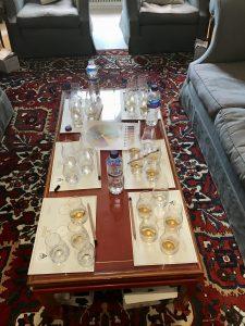 Whisky Tasting at Blervie House