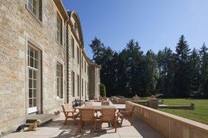 Blervie House Sun Terrace reasons why to visit scotland