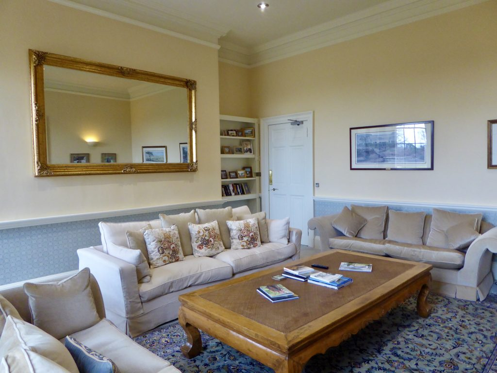 The Reading Room at Blervie House