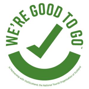 Visit Scotland Covid 19 Good To Go Logo