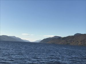 Loch Ness in December 2020