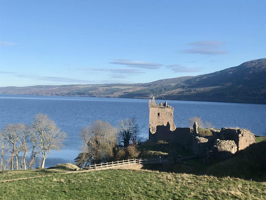 Overlooking Urquhart Castle