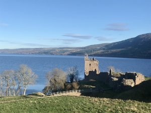 Overlooking Urquhart Castle