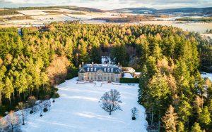Aerial View of Blervie