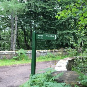 Dava Way Signpost