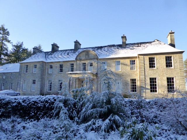 Blervie House March 2021 in Scotland