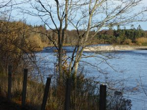 River Spey at Baxters Visitor Centre