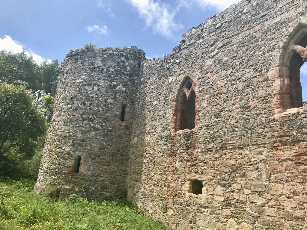 Rait Castle May 2021 in Scotland
