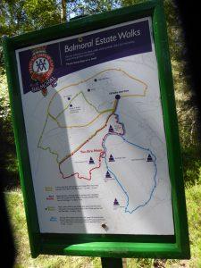 Balmoral Walks Map
