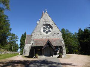 Crathes Church at Balmoral